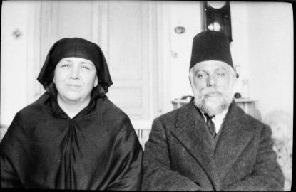14 Sekerci Cemil Bey esi Fatma Serife Aliye ile